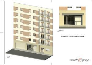 Proyecto1 - Plano - A100 - Portada