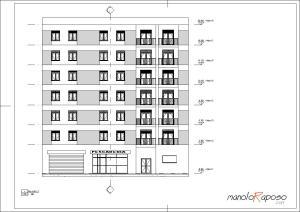Proyecto1 - Plano - A102 - Alzado