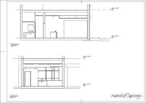 Proyecto1 - Plano - A103 - Secciones