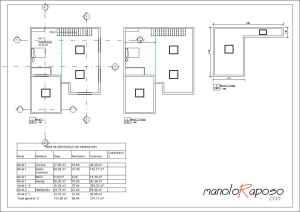 Proyecto1 - Plano - A102 - Planta Piso y Cubierta