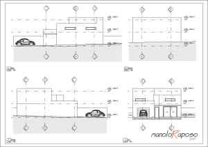 Proyecto1 - Plano - A103 - Alzados
