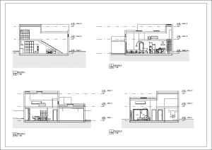 Proyecto1 - Plano - A105 - Secciones